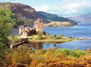 (CSC200016) - Castorland Jigsaw 2000 pc - Eilean Donan Castle, Scotland