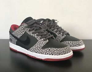 "wholesale dealer 5e89b 39fc9 Details about Nike Id Dunk Low Cement ""Supreme"" Size 10"