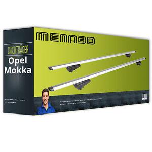Menabo-Pick-Up-Dachtraeger-Aluminium-Opel-Mokka-komplett-inkl-EBA