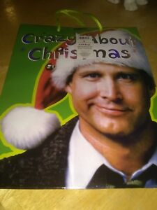 Clark Griswold Christmas Vacation.Details About 2 New National Lampoons Christmas Vacation Clark Griswold Gift Bag Chevy Chase