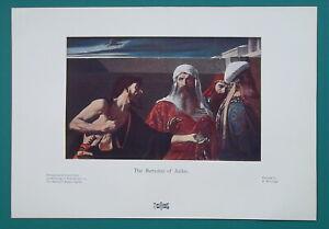 BIBLE-Remorse-of-Judas-1904-COLOR-Art-Nouveu-Era-Print
