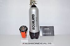 New Citizen Promaster Diver's Eco-Drive Orange Black Chronograph $695.00 Watch