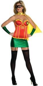 Robin-Corset-Batman-DC-Superhero-Fancy-Dress-Up-Halloween-Sexy-Adult-Costume