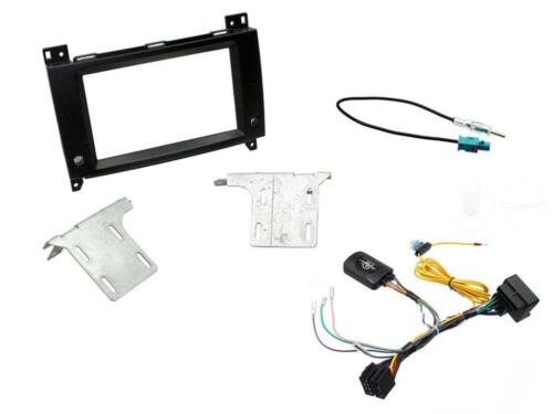 Connects2 CTKMB17 Mercedes Vito 2015 Onwards Complete Double Din Fitting Kit