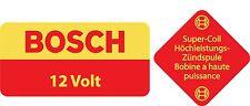 Bosch 12V Blue Coil DECAL STICKER VOLKSWAGEN BEETLE KARMON TYPE 1 TYPE 3 BUS