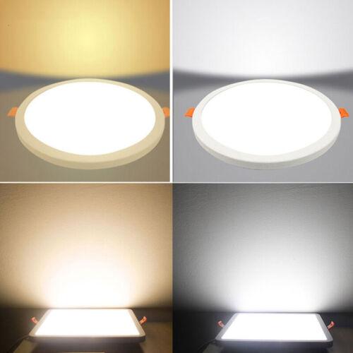 LED Panel 6W-20W Deckelampe Einbau Downlight offenes Loch verstellbare Lampe DE