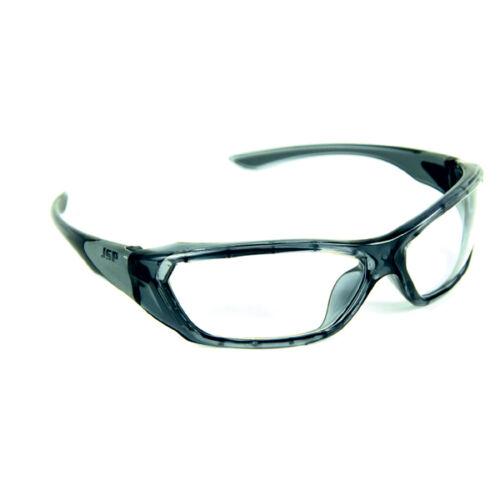 Protective Eye Wear PPE Safety Glasses Genuine JSP Forceflex 3000 Clear Lens