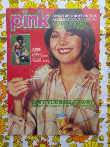 PINK magazine 30 Sept 1978 #285 vintage MUSIC UK The Boyfriends ANDY GIBB