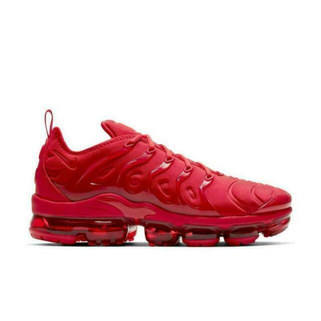 Size 10 - Nike Air VaporMax Plus Triple Red