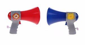 Kids mégaphone police pompier Voice Changer Jouet Mic Loud Jouet Fun Toys  </span>