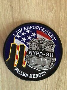 NYPD Police Law Enforcement Fallen Heroes Patch