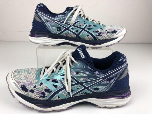 exposición Malawi Subir y bajar  ASICS Gel-cumulus 18 T780N Womens Running Training Shoes Blue White Size 11  for sale online | eBay