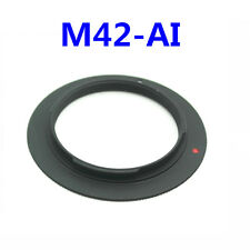 M42 Lens Mount Adapter Ring for NIKON D5000 D700 D300 D90 D40......