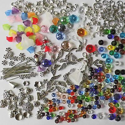 Perlen Schutzengel 450 Tlg Bastel-set Elfen Feen Glücksbringer Charms Perlen Anhänger Zahlreich In Vielfalt Perlen- & Schmuck-bastelsets