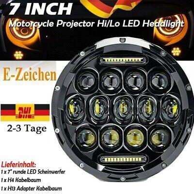 7/'/'Zoll universal motorcycle Motorrad LED Projektion Haupt Scheinwerfer 6000K DE
