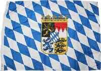 2x3 Bavaria Bavarian Crown Coat Of Arms Rough Tex Knitted Flag 2'x3' Banner