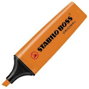 STABILO Boss Original 2-5 mm Rosa Amarillo Verde y Naranja