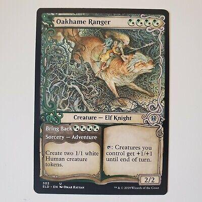 x1 Oakhame Ranger //// Bring Back ELD MTG Eldraine 302 UNCOMMON SHOWCASE M//NM 1x