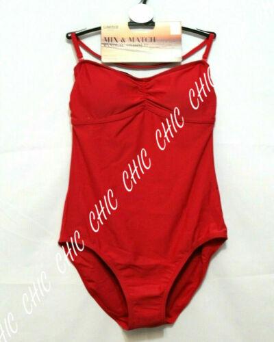 Marks /& Spencer Ladies Halterneck Bandeau Swim Suit Swimming Costume 12 14 18