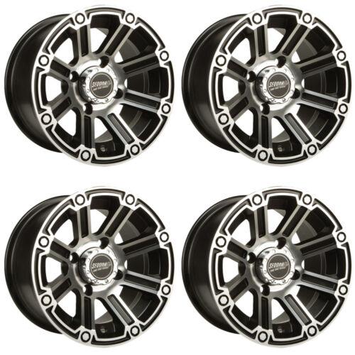 4 ATV//UTV Wheels Set 12in Sedona Viper Machined 12mm 4//137 5+2 TER