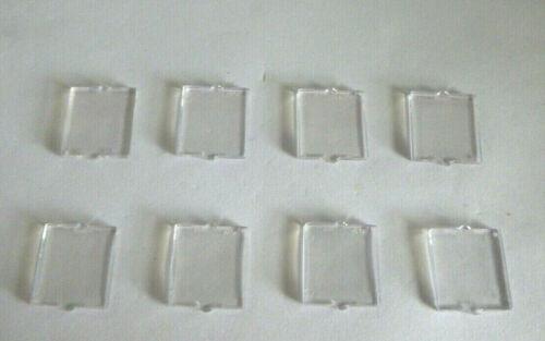8  LEGO® 60032//35315 City,Schiff,Haus,Fenster 1x2x2 Einsatz klar transparent.