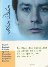 Alain Delon. 4 movies Collection. 8 Languages. Voice:French, Italian, Russian