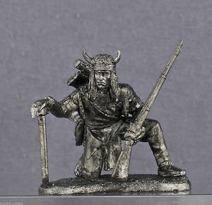 Zinnfigur-Native-American-Sioux-Tribe-In-1-54mm
