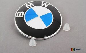 BMW-neuf-origine-E81-E87-E88-E82-E90-E91-E92-E93-bonnet-badge-embleme-Set