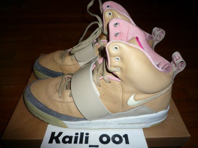 Nike Air Yeezy 1 Size 13 Worn Tan Net Used 366164-111 A