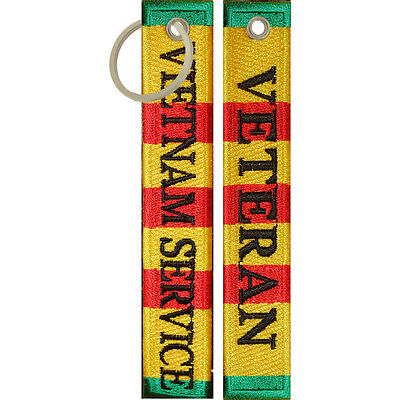 Desert Storm Veteran Keychain Luggage Tag Key Ring Military Gifts