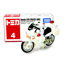 Tomy Tomica 4 Honda Vfr Police Bike White 1 32 Scale F S Japan