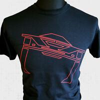 Tron Recognizer T Shirt Retro  Sci Fi Classic MCP Legacy Vintage Cool
