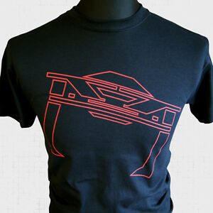 Tron-Recognizer-T-Shirt-Retro-Sci-Fi-Classic-MCP-Legacy-Vintage-Cool