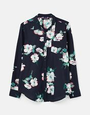 Joules 211382 Printed Woven Shirt - NAVY POPPY