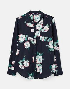 Joules Womens 211382 Printed Woven Shirt  Navy Poppy