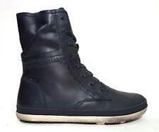 Brand New $120 VADO Kids Girls Unisex Boots Navy LEATHER Size 4 USA/36 EURO/3 UK