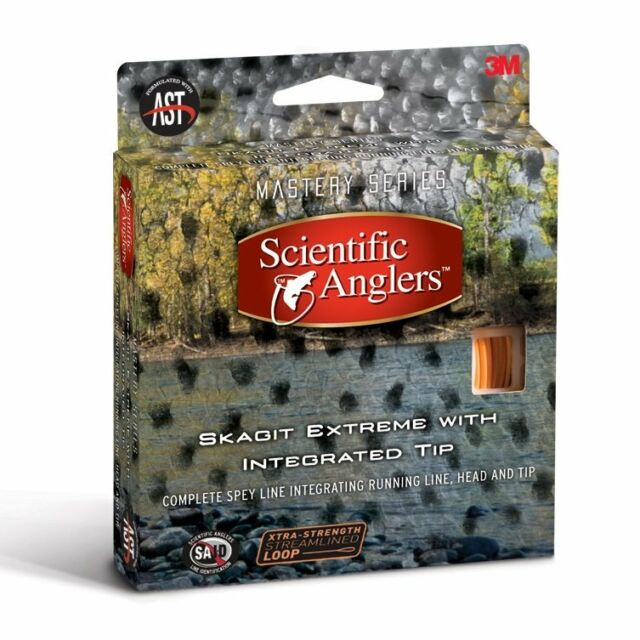 Scientific Anglers Mastery Scandi Extreme Head 440-600 gr Sunset//Light Blue