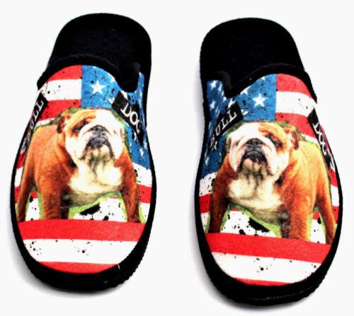 Bulldog Chaussons Chaussures Gästeschuhe Intérieur American uT1JcK3lF