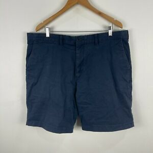 Tommy-Hilfiger-Mens-Chino-Shorts-Size-40-Blue-Pockets