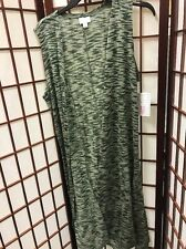 Medium Lularoe NWT Joy Vest - Heathered Green