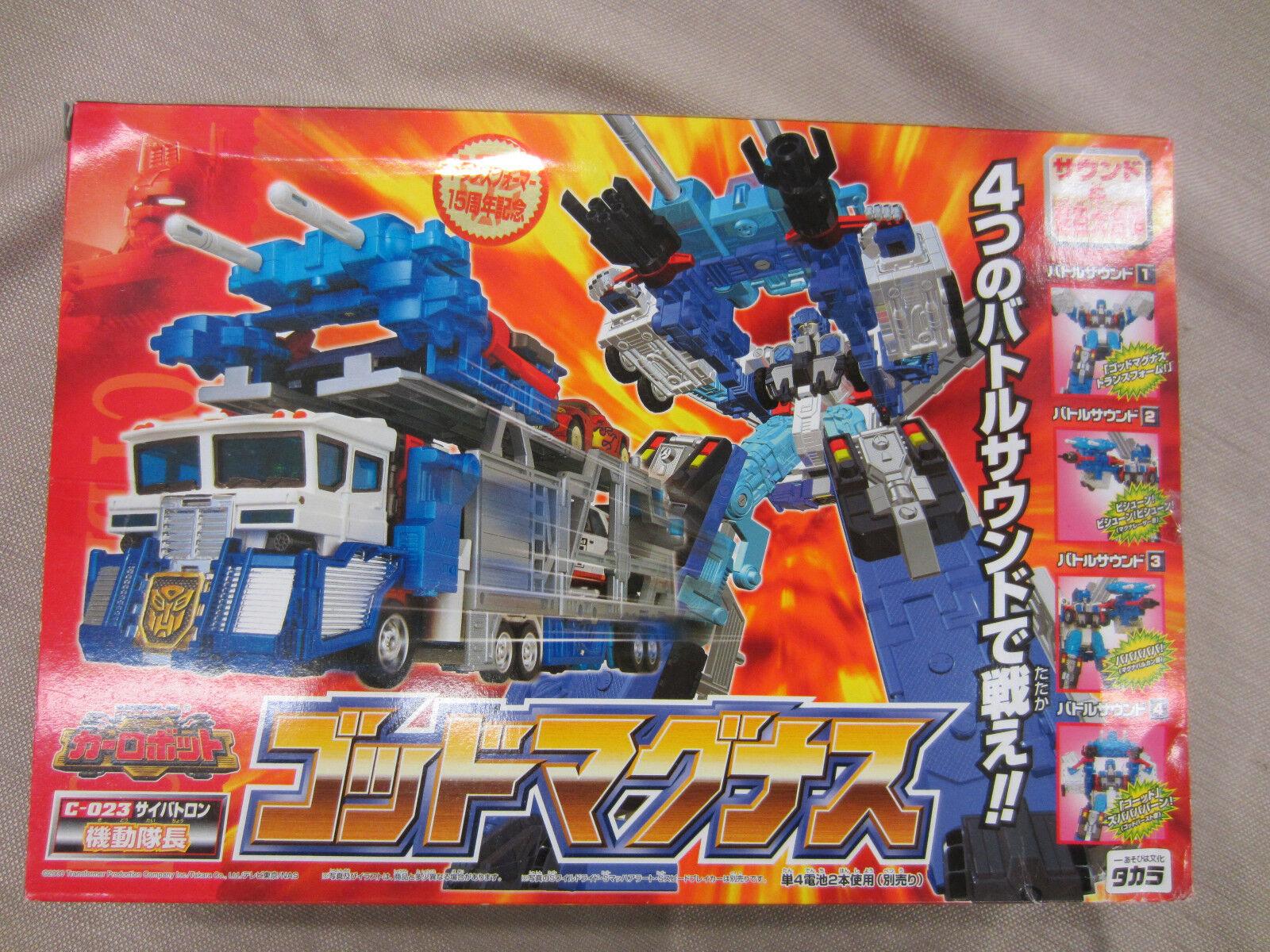 Transformers Takara 2000 Rid Ultra Magnus C-023 Coche Robot Dios y en Caja Sellada Nuevo Sin Abrir