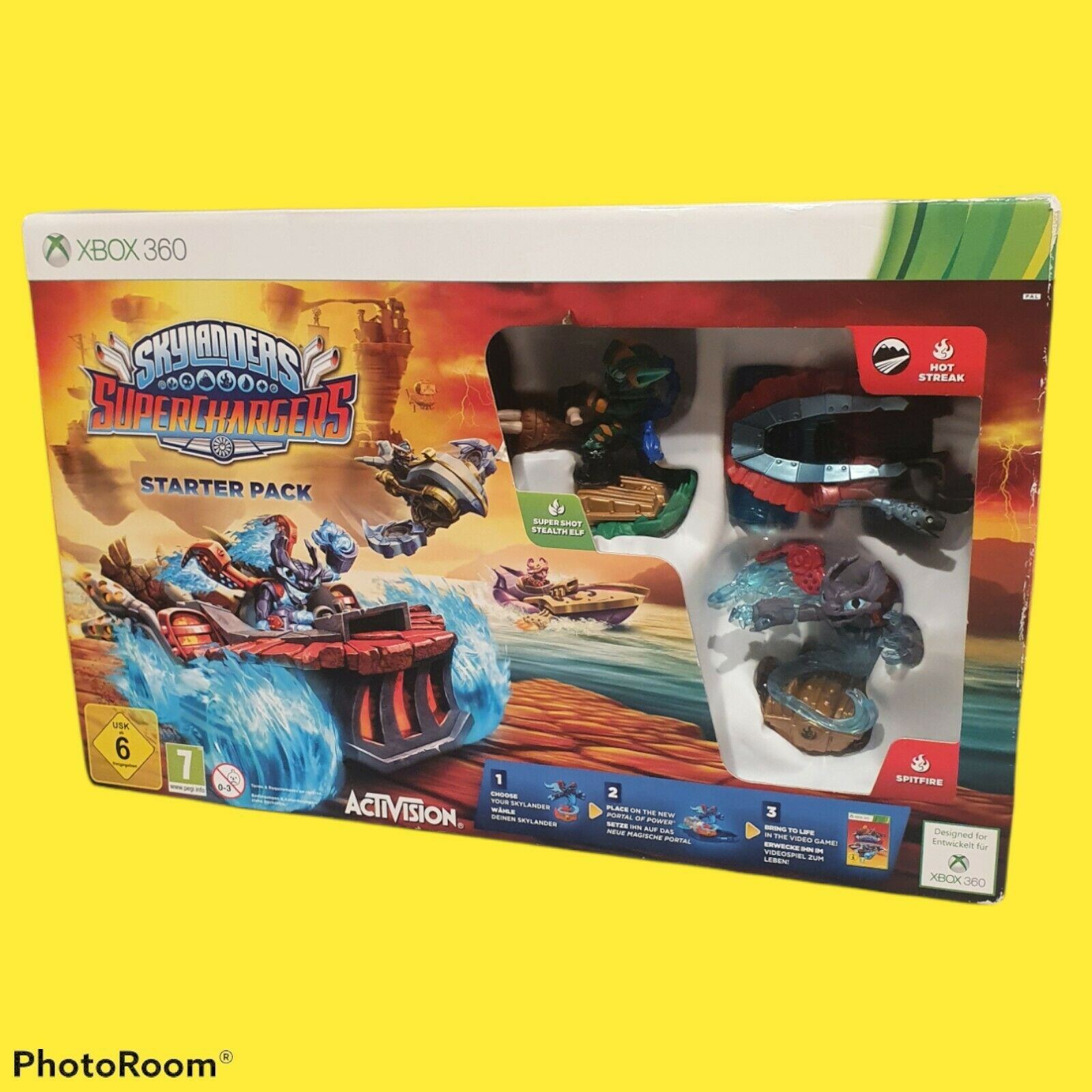 Activision Skylanders Superchargers Starter Pack XBOX 360 *New factory sealed*