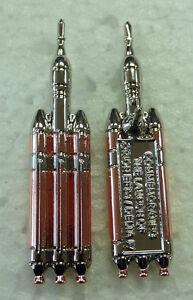 New Chrome Copper Orion EFT 1 Delta IV Rocket Pin NASA ...