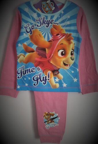 Paw Patrol Pyjamas Skye Pjs Pink Girls Pj/'s Pyjama Set T2TC310