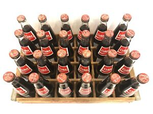*RARE* 24 1986 Coca-Cola Albany NY Collectible Bottles & Wooden Coke Crate!