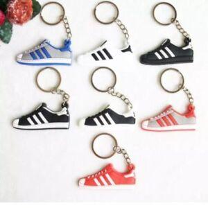 Details about 2D Adidas Originals Superstar Trainer Shoe Keyring Keychain