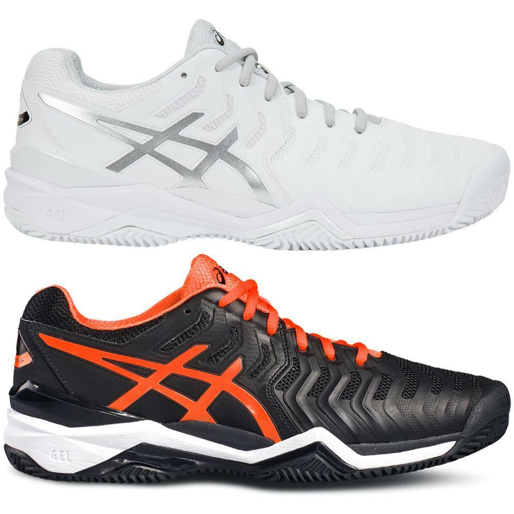 Asics Gel-Resolution 7 Clay Court Herren Tennisschuhe Tennis Sandplatz Schuhe
