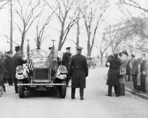 President Calvin Coolidge et Herbert Hoover 11x14 Argent Halide Affiche N9UHolo2-09094648-833279028