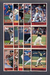 1997-Topps-Oakland-A-039-s-TEAM-SET
