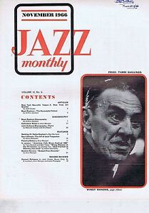 WINGY MANONE  BOYD RAEBURN  JOHN COLTRANE Jazz Monthly Nov 1966 - <span itemprop=availableAtOrFrom>Bournemouth, United Kingdom</span> - Returns accepted Most purchases from business sellers are protected by the Consumer Contract Regulations 2013 which give you the right to cancel the purchase within 14 days after the  - Bournemouth, United Kingdom